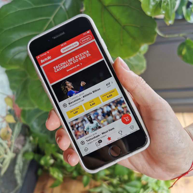 betclic aplikacja mobilna