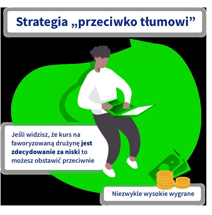 Strategie i systemy bukmacherskie strategia przeciwko tłumowi