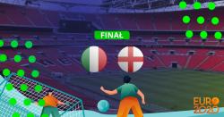 Włochy - Anglia kursy bukmacherskie Finał EURO 2020